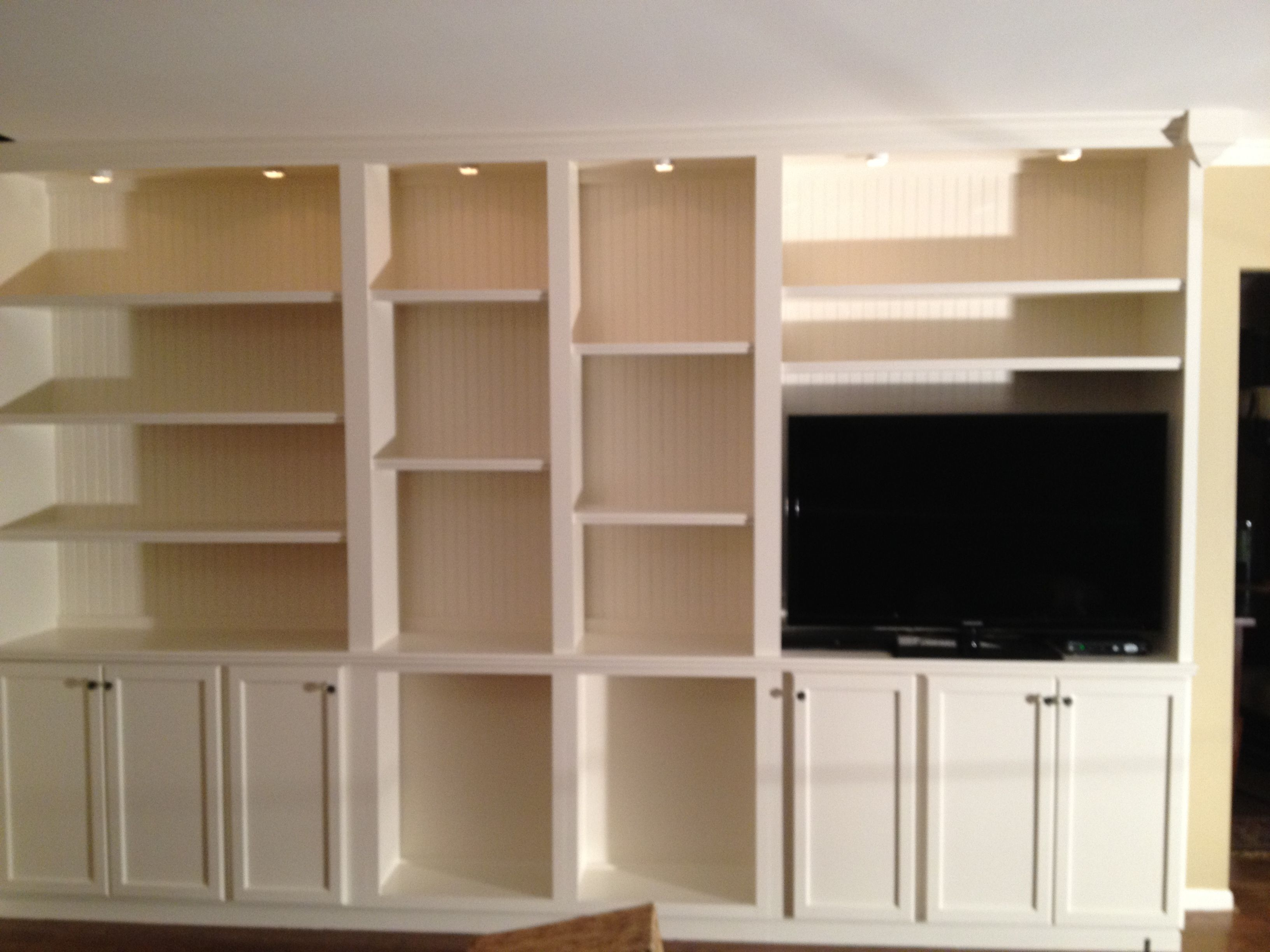 Built In Wall Unit Decorating Ideas Pinterest