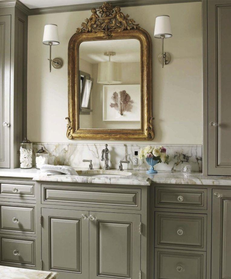 Soft Sage Green Cabinetry Restful 2 Bath Laundry Design Pinte