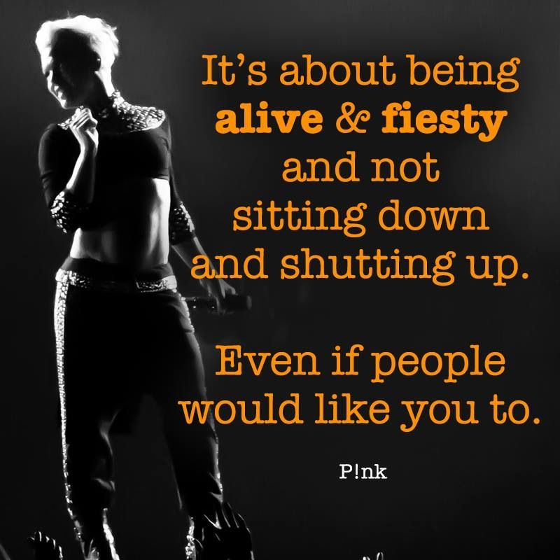 pink the singer quotes about life quotesgram