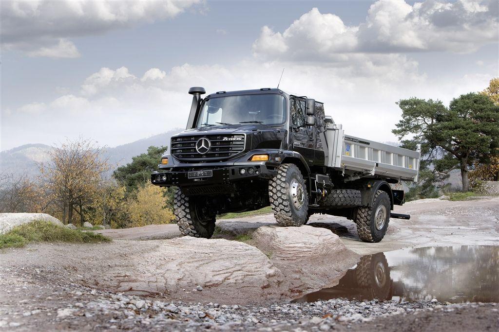 Mercedes-Benz #Zetros   transportation ...