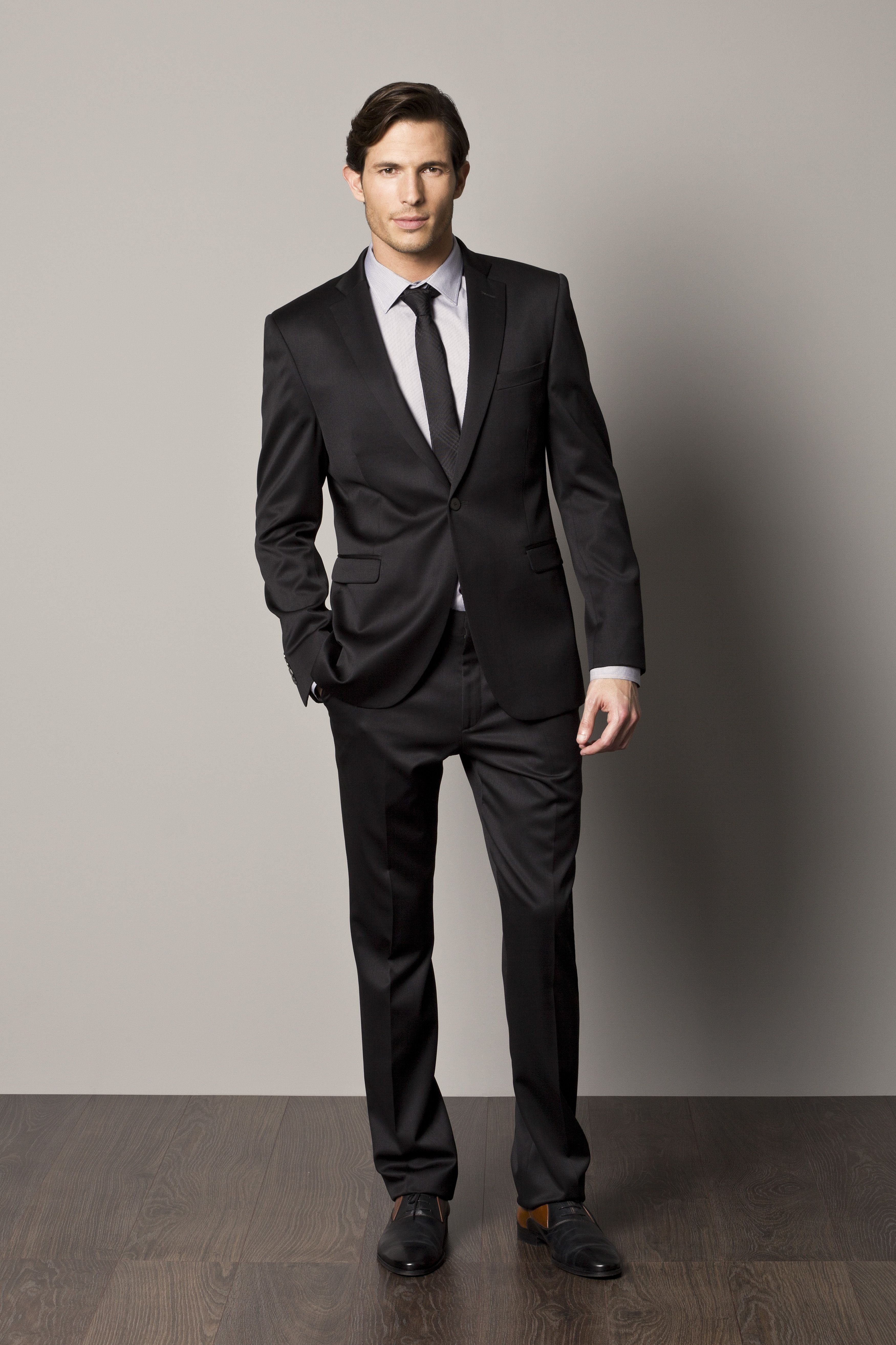 Find great deals on eBay for mens black suit. Shop with confidence. Skip to main content. eBay: Slim Fit Pinstripe Black Men Suit 2 Button Notch Lapel Fitted No Pleat AZAR. Brand New. $ Buy It Now. Free Shipping. 64+ Sold. Tell us what you think - opens in new window or tab.