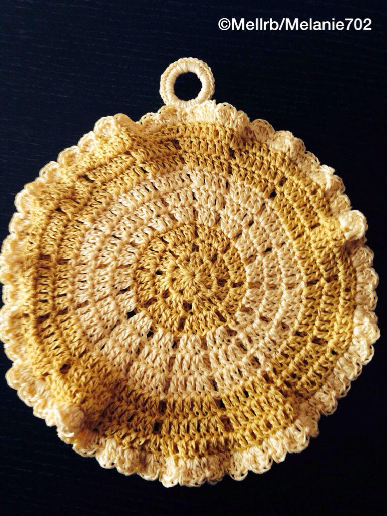 Crochet Potholder : Crochet potholder Crafts - Crochet Pinterest