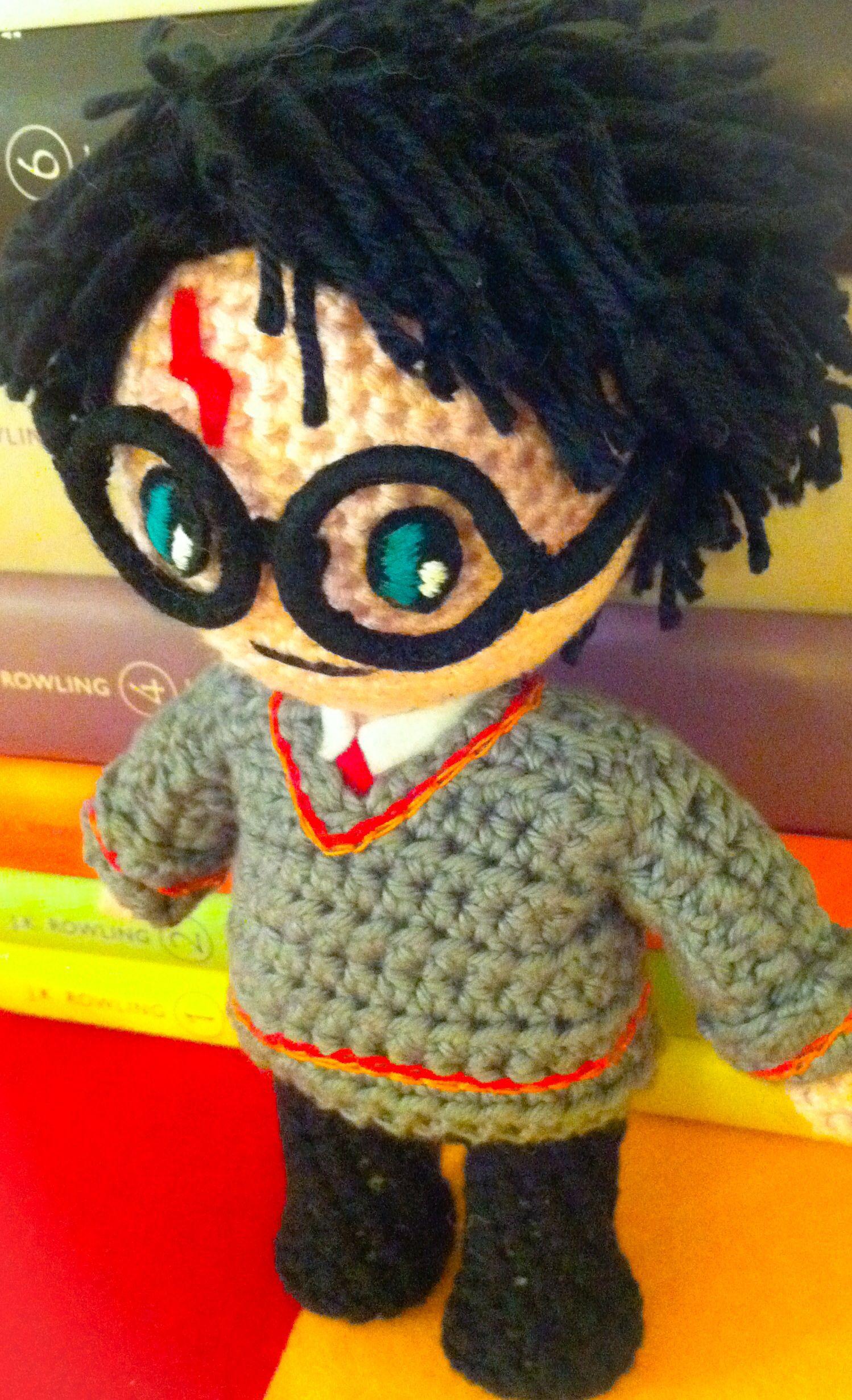 Amigurumi Human Pattern Free : Harry Potter, Amigurumi harry potter patterns Pinterest