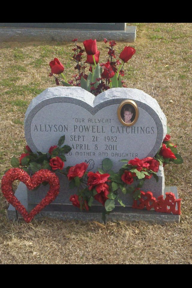 valentine's day grave decorations
