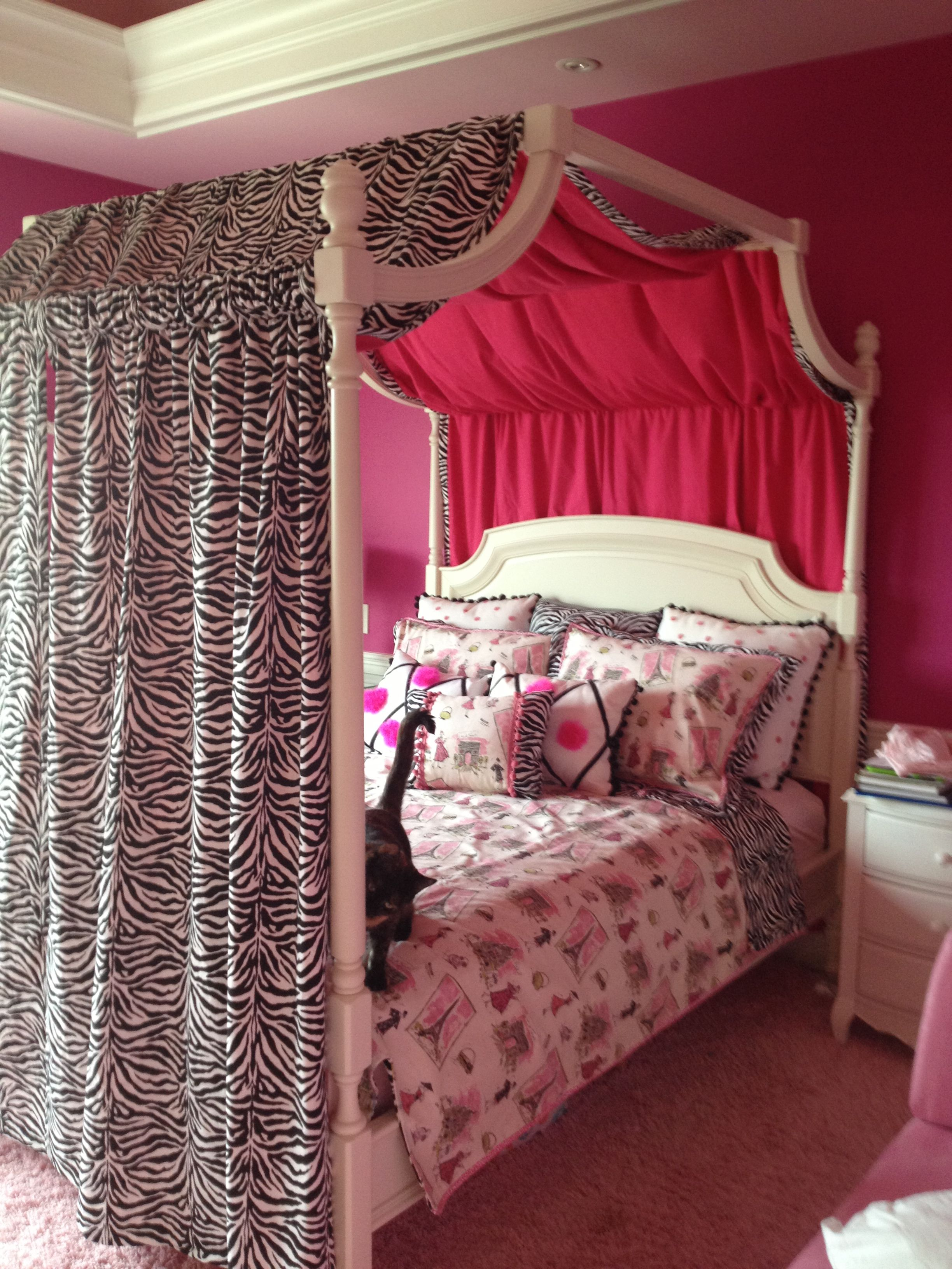 Zebra Bedroom For Girls Bedrooms Pinterest