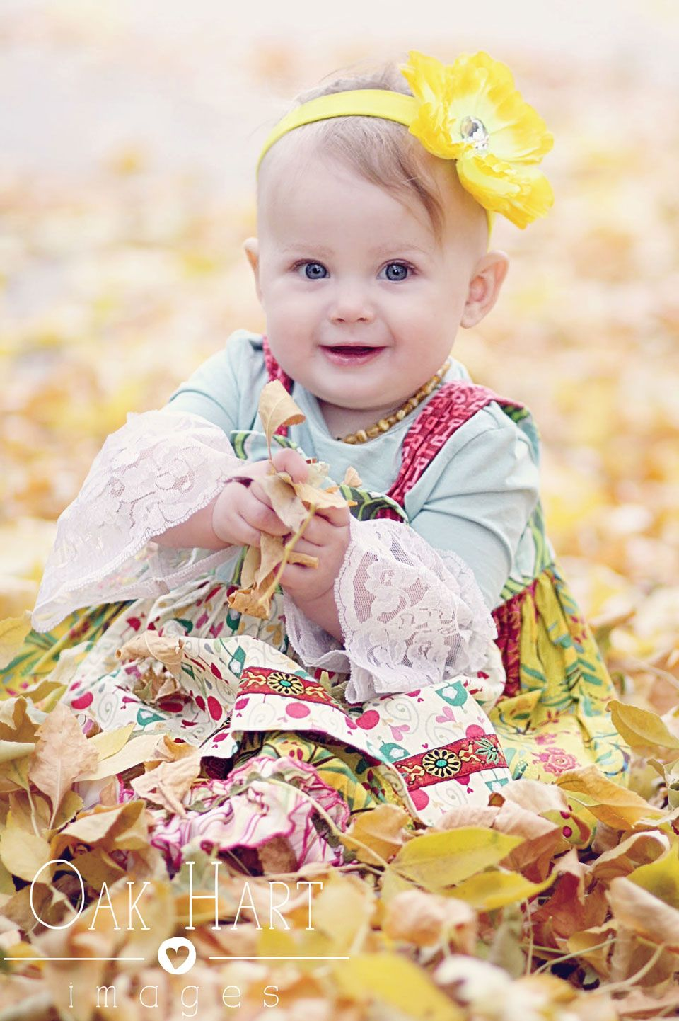 Hart Images ~ Baby Fall leaves Matilda Jane Photo  | Photograp