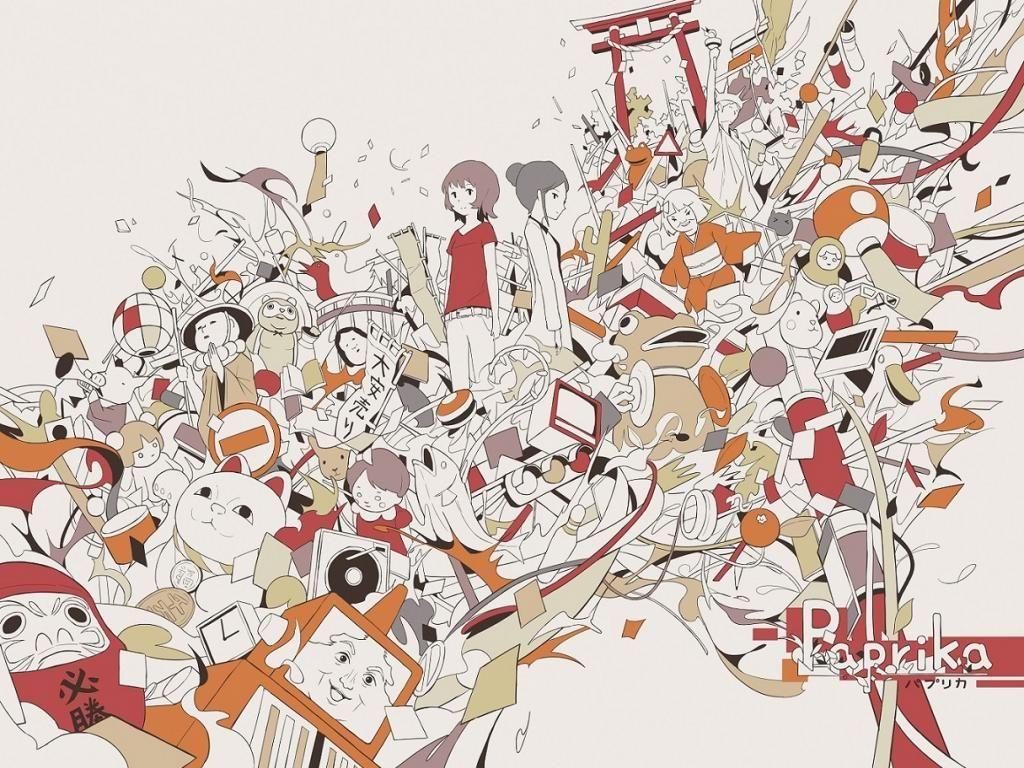 パプリカ 壁紙 アニメ