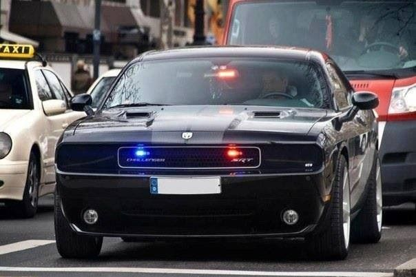 challenger srt8 police car badass pinterest. Black Bedroom Furniture Sets. Home Design Ideas