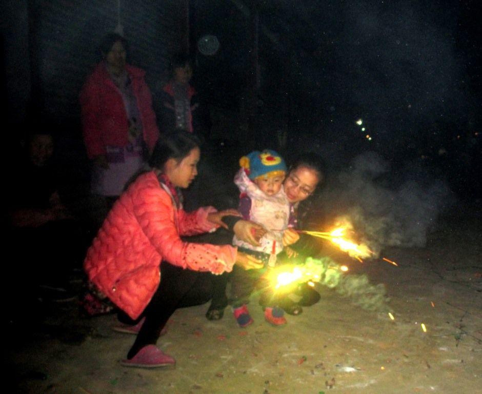 The children loved the fireworks.