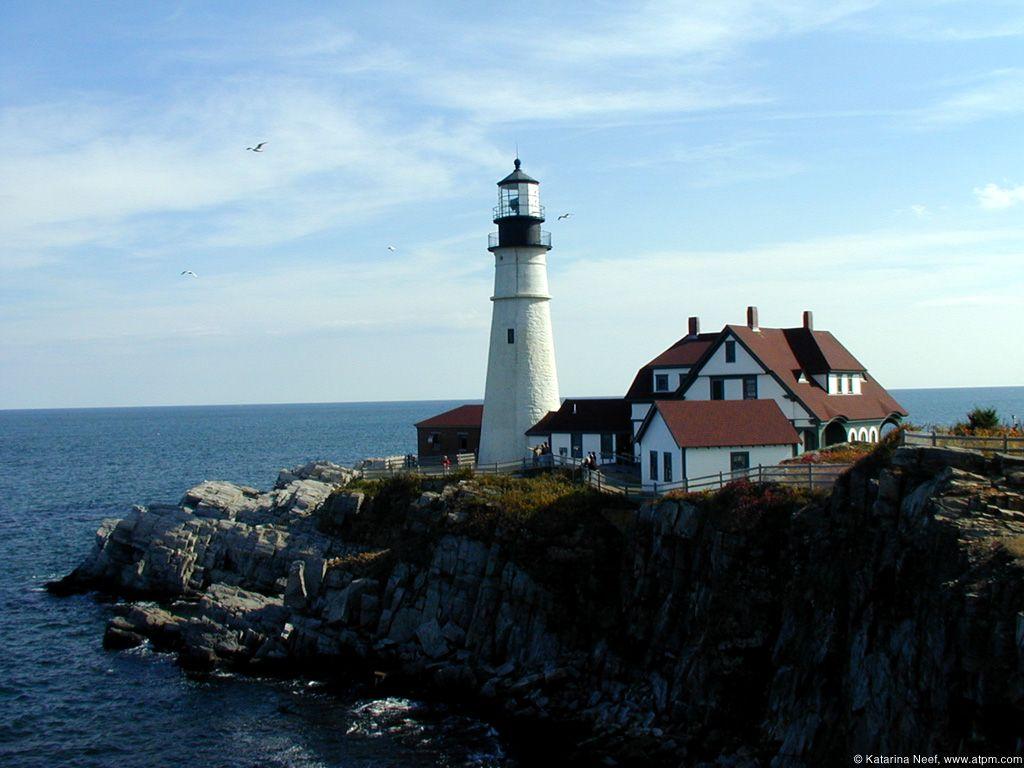 Maine USA Lighthouses America the Beautiful