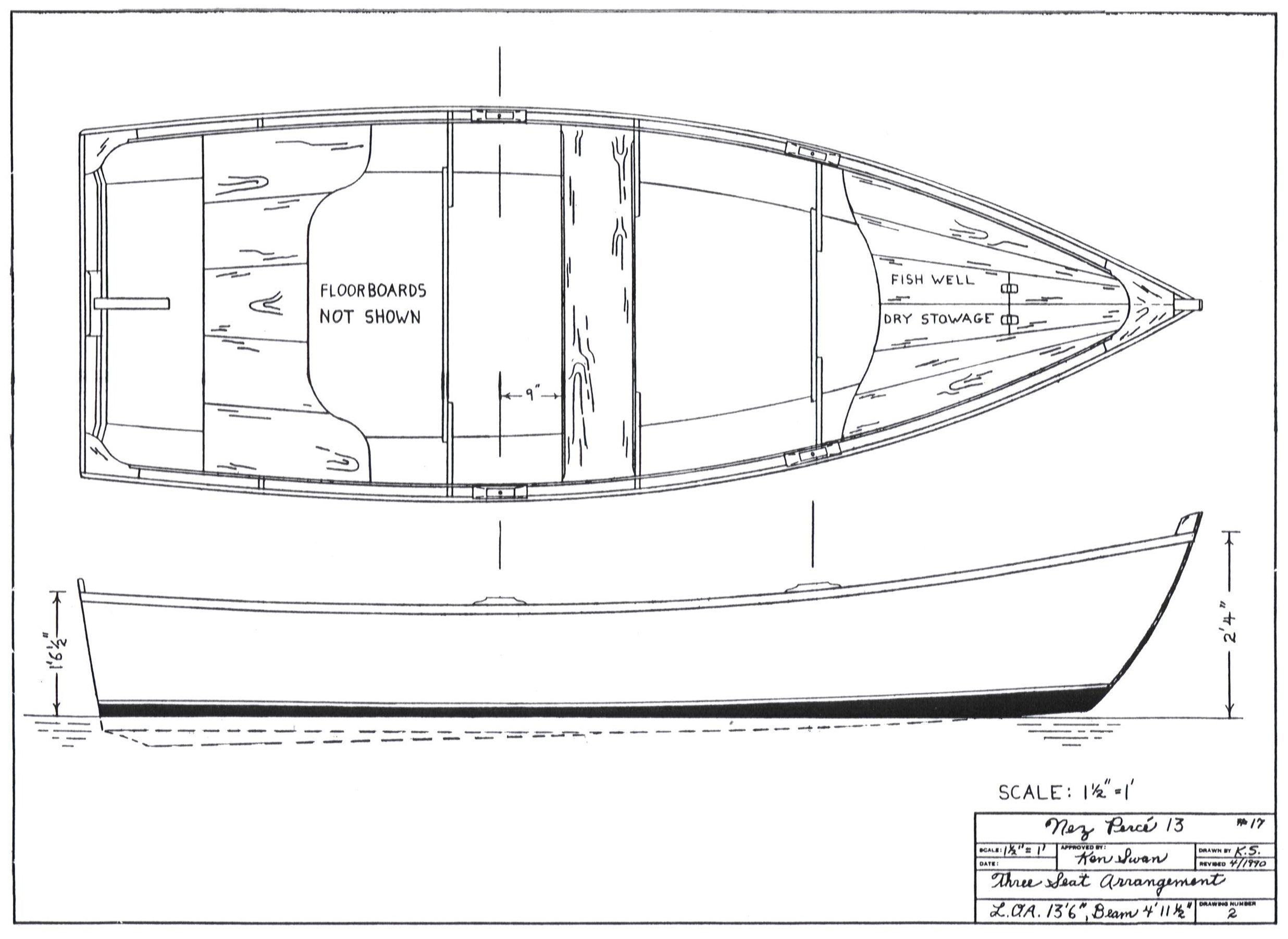 Share for Plans for canoe