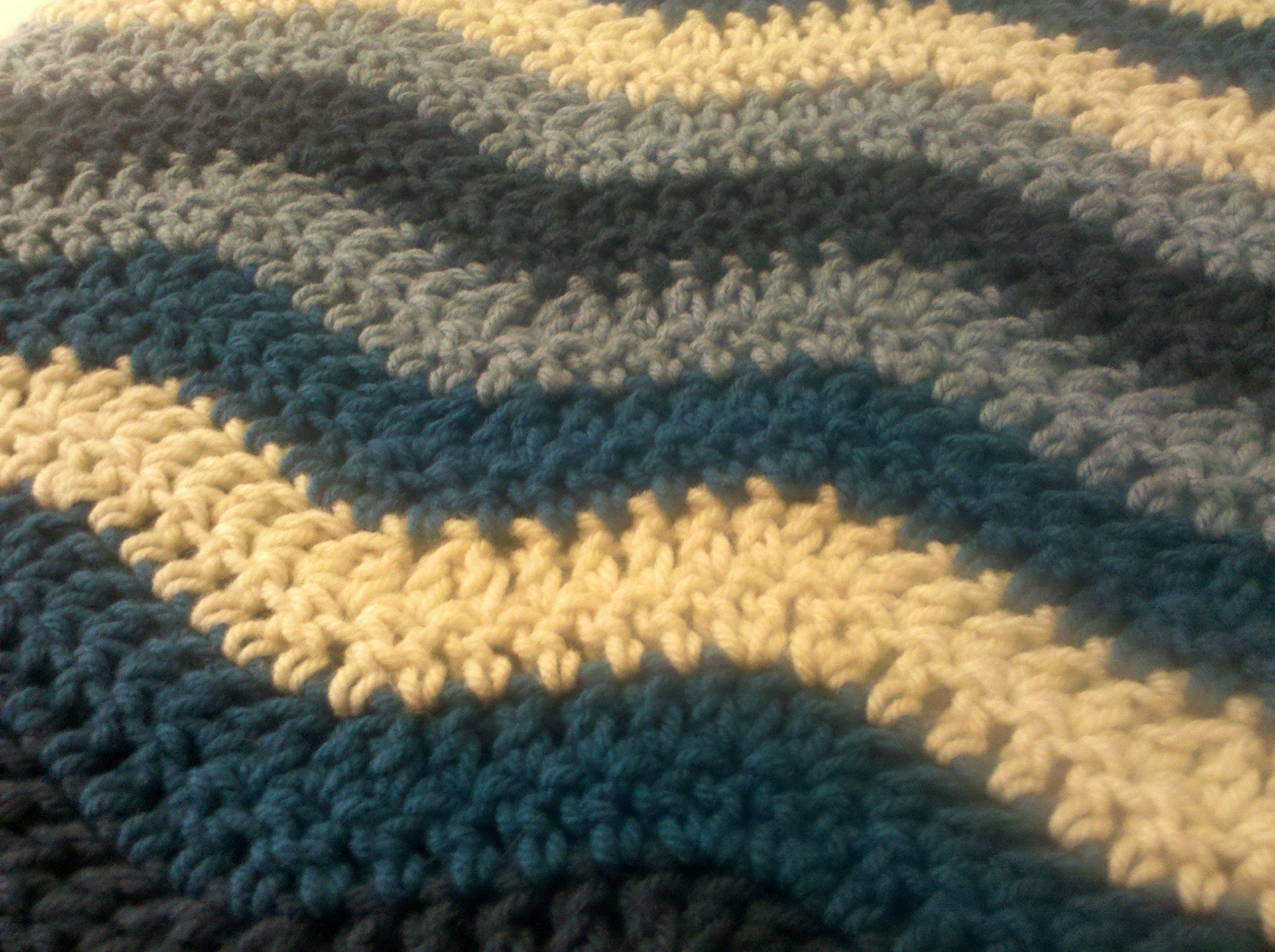 Crochet Ocean Wave : ocean waves Crochet Afghans 2 Pinterest