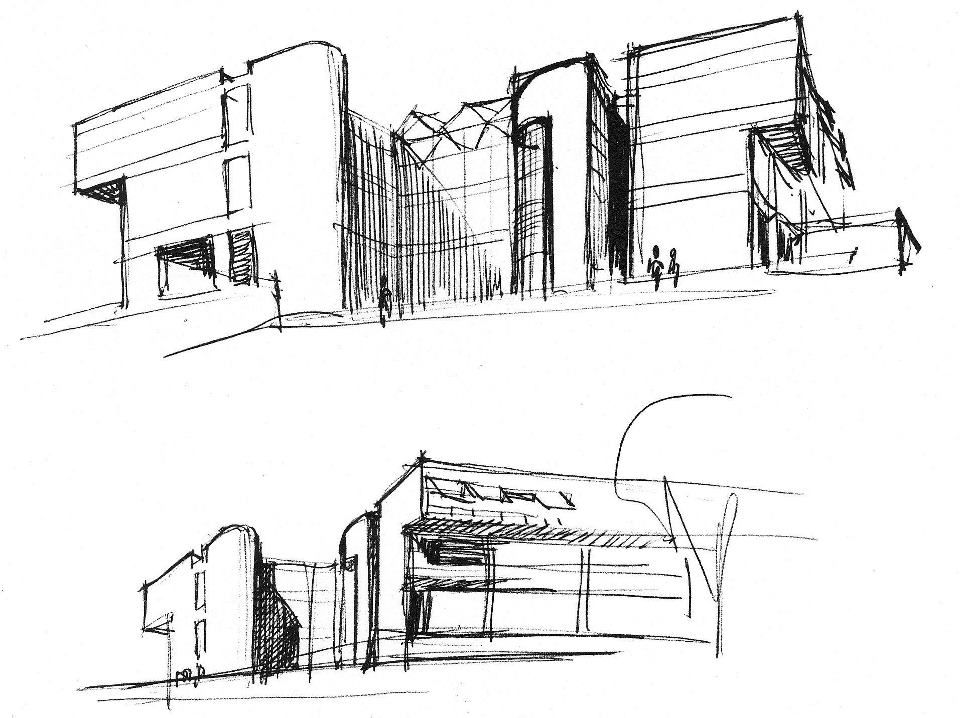 Utk Art Architecture Building Sketch World Of W O N D E R Pin
