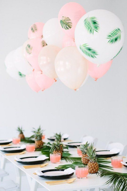 Casual Yet Chic Theme Party Ideas | Editor