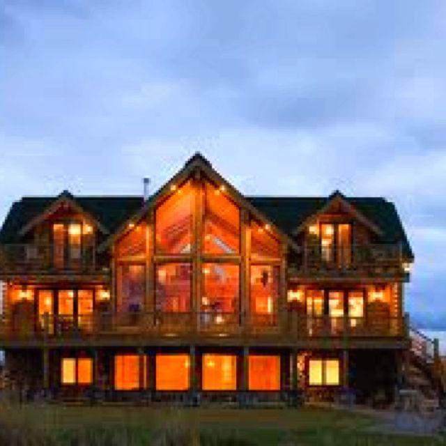 My Dream Log Home Extreme Log Homes Pinterest
