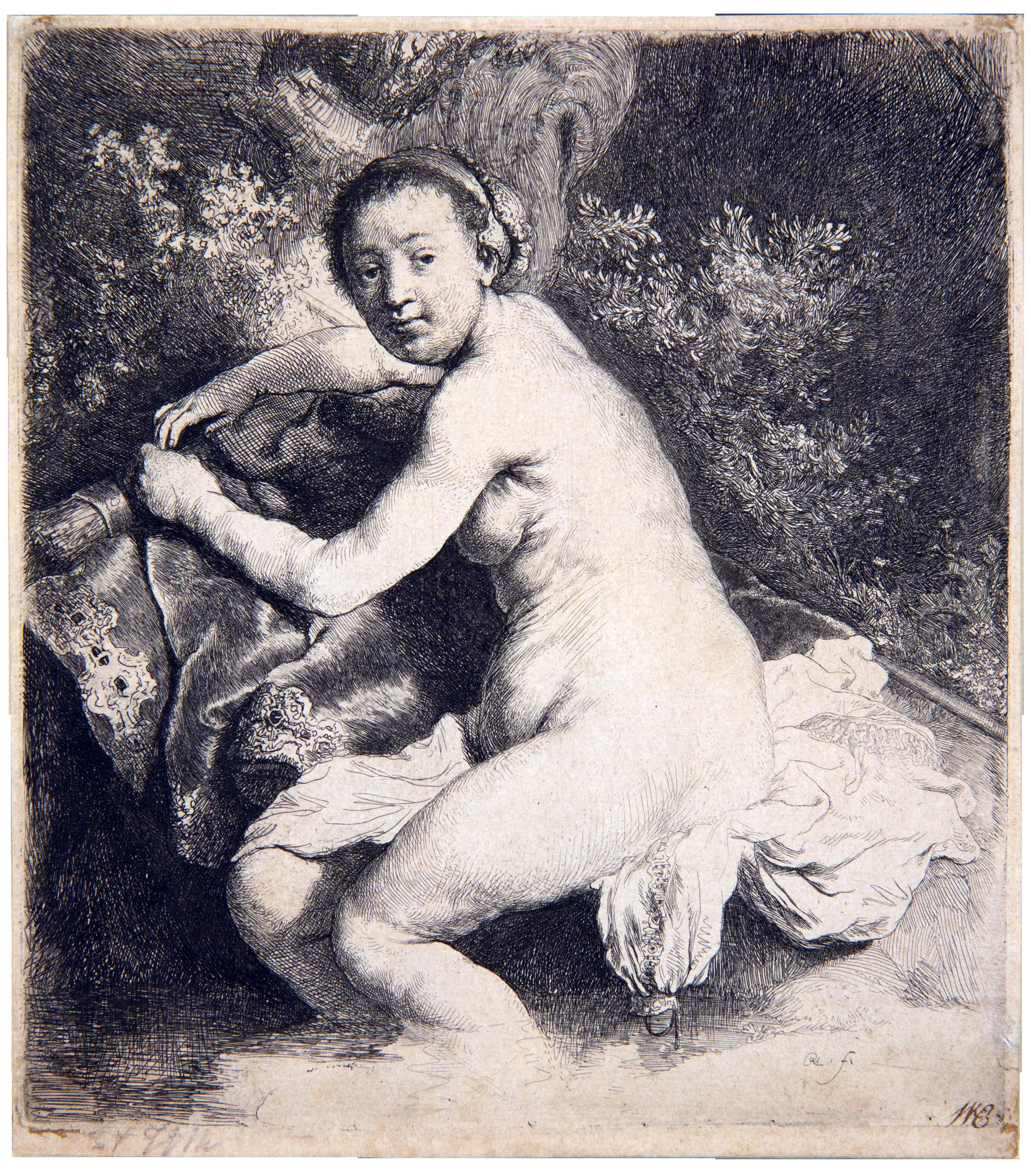 Картины Рембрандта Обнаженные Женщины