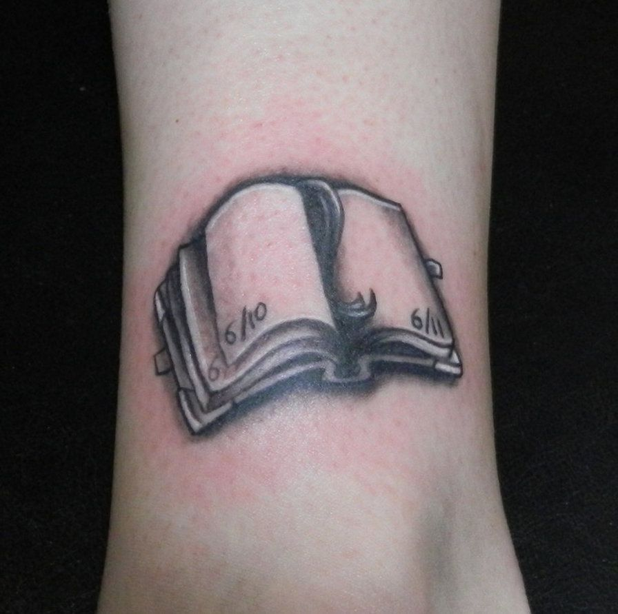 open book ink