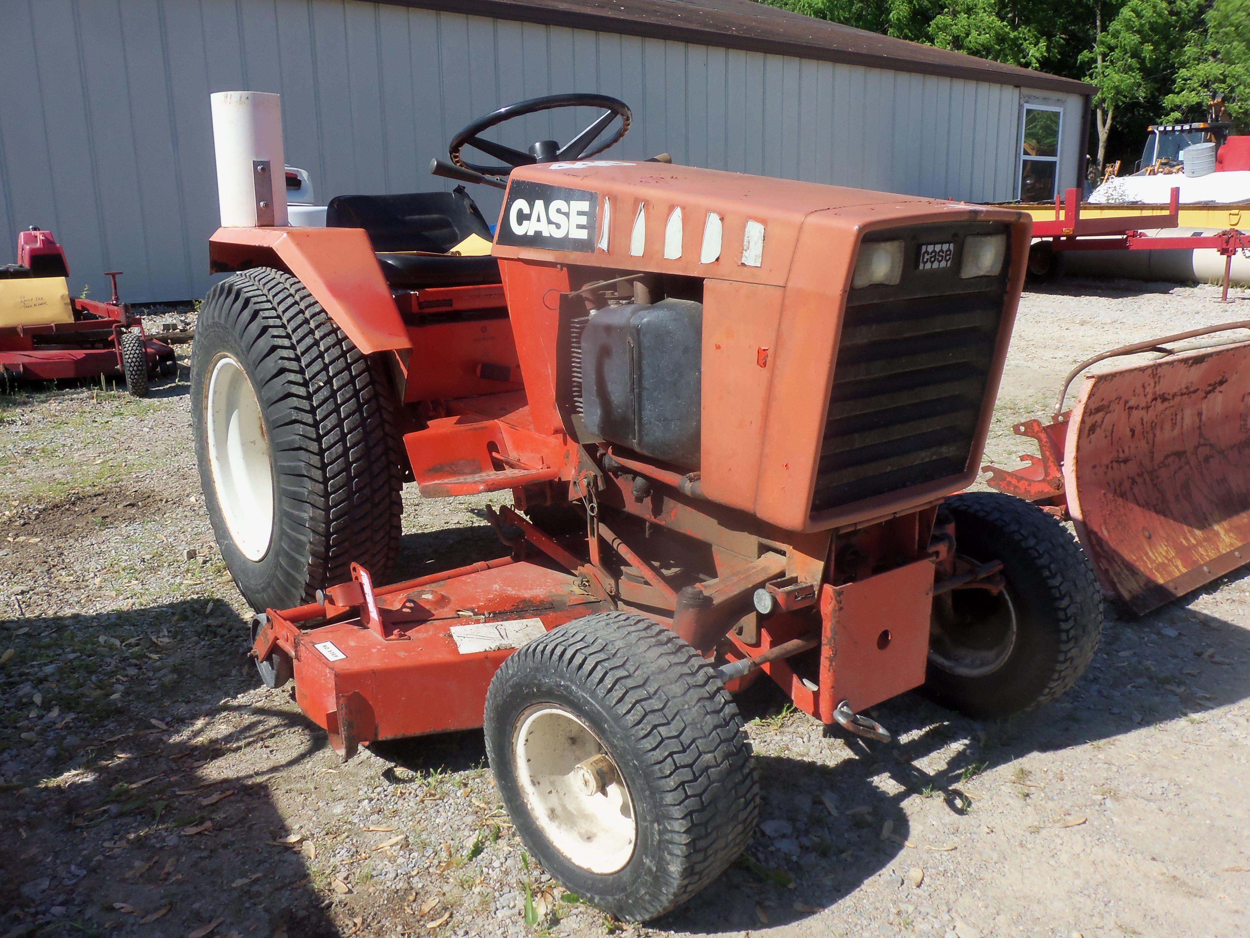 Case 446 Garden Tractor : Case garden tractor j i equipment pinterest