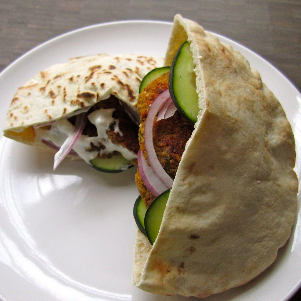 images Baked Falafel
