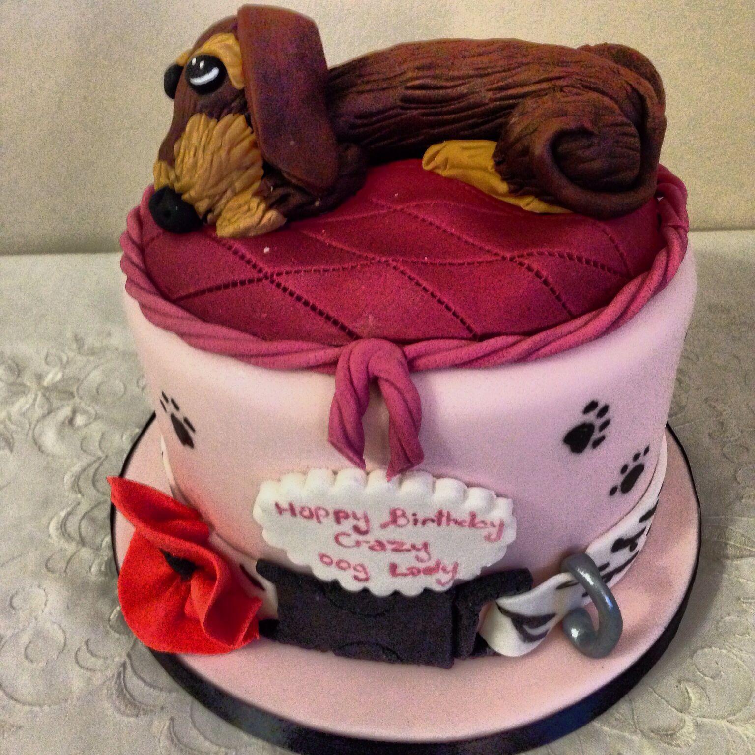 Pin Sausage Dog By Helen Ward Cakesdecorcom Cake ...
