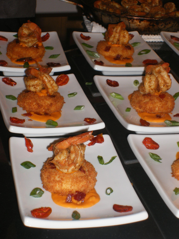 Shrimp & Grit Cake | Southern Picks: Cajun, Creole, etc. | Pinterest