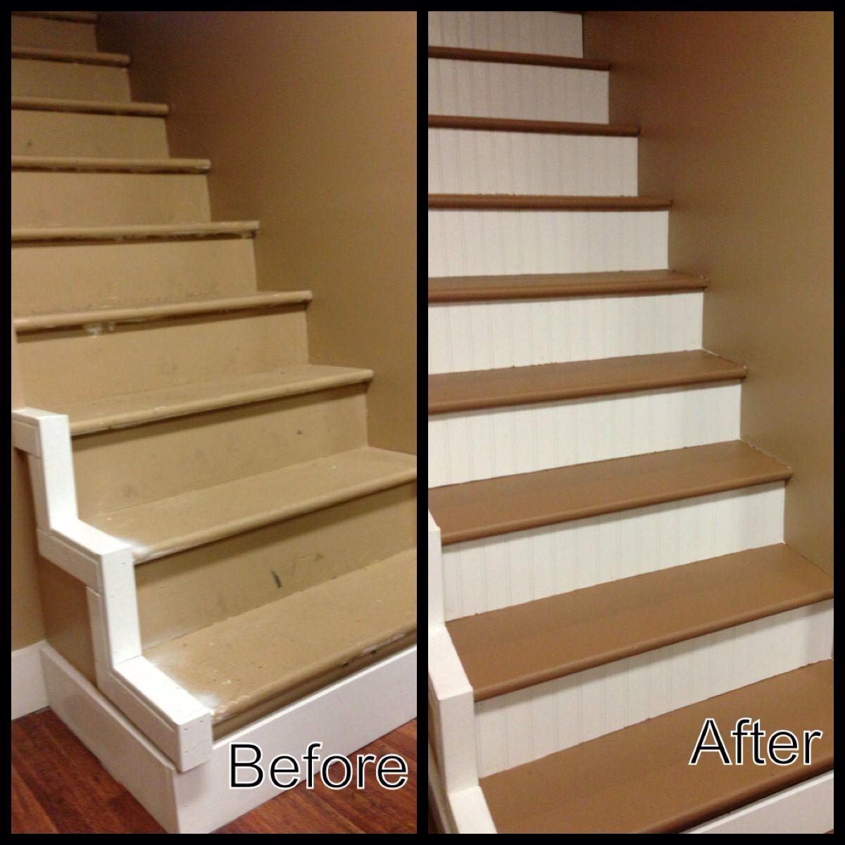 basement stairs project domestikated pinterest