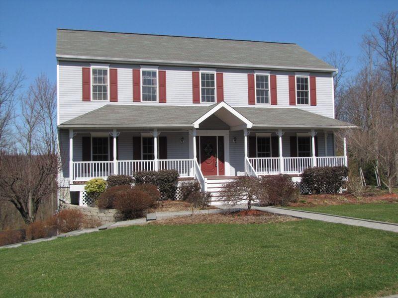18 Artistic Colonial Front Porch Home Plans Blueprints