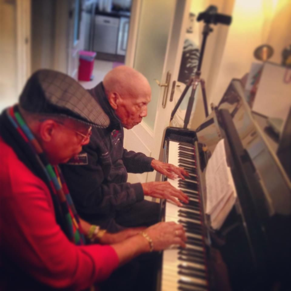 Bebo y Chucho . Father and son.   Music of my life   Pinterest