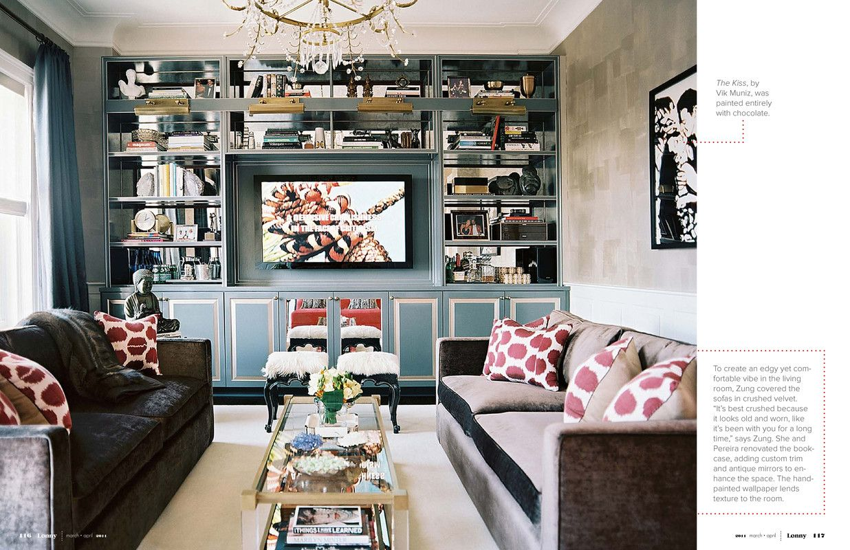 Gray Blue And Cranberry Living Room Living Rooms Pinterest