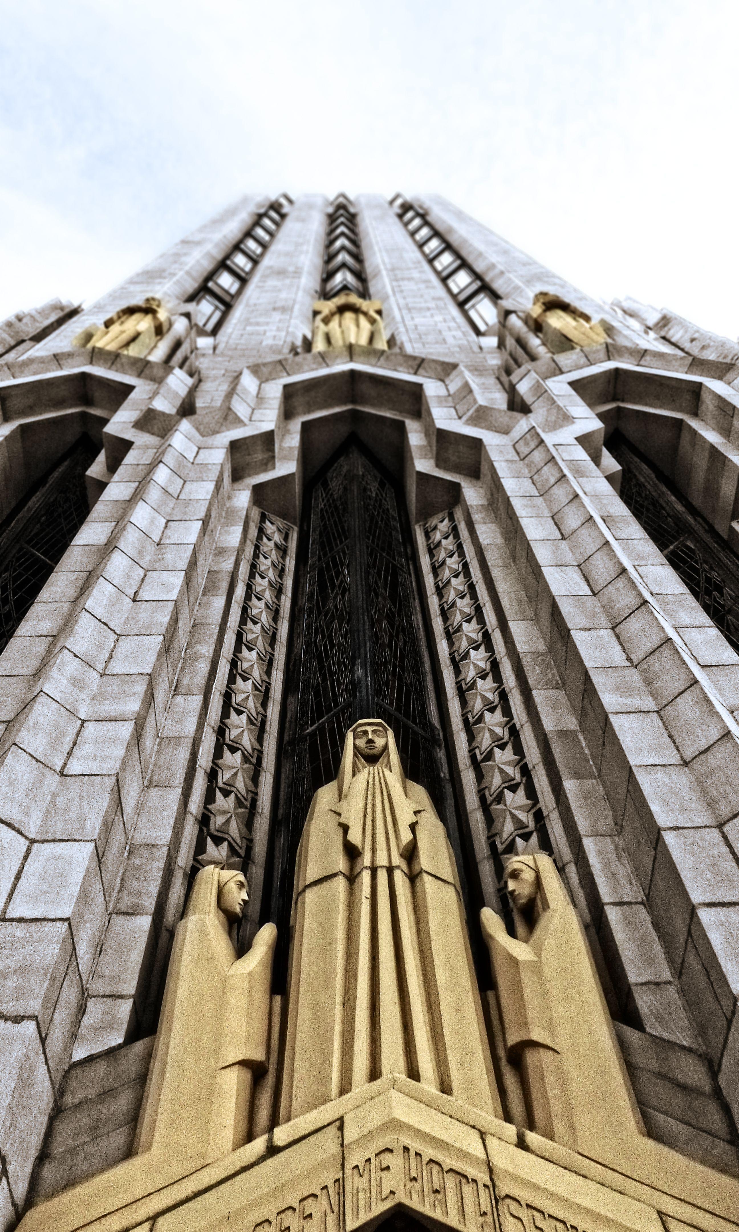 Boston avenue united methodist church in tulsa oklahoma for Architecture art deco