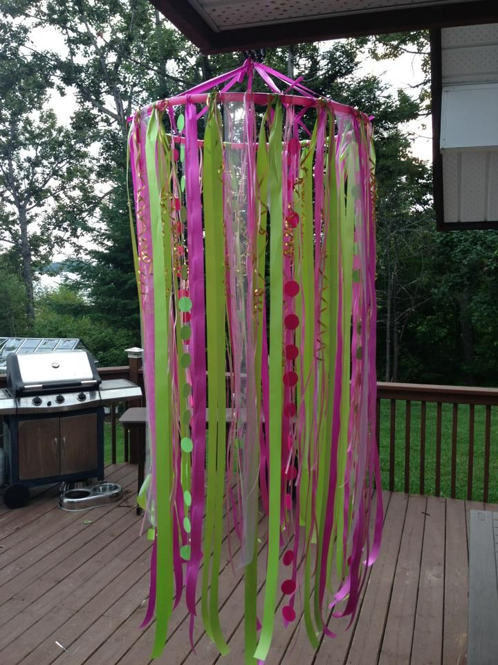hula hoop bday decoration ideas i love pinterest ForHula Hoop Decorations