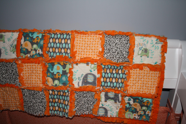 Rag Quilt Ideas Pinterest : Homemade rag quilt Grandbabies Pinterest