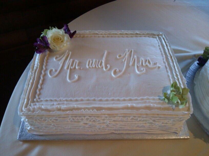 Ribbon Wedding Sheet Cake Wedding Cakes I 39 Ve Made Pinterest