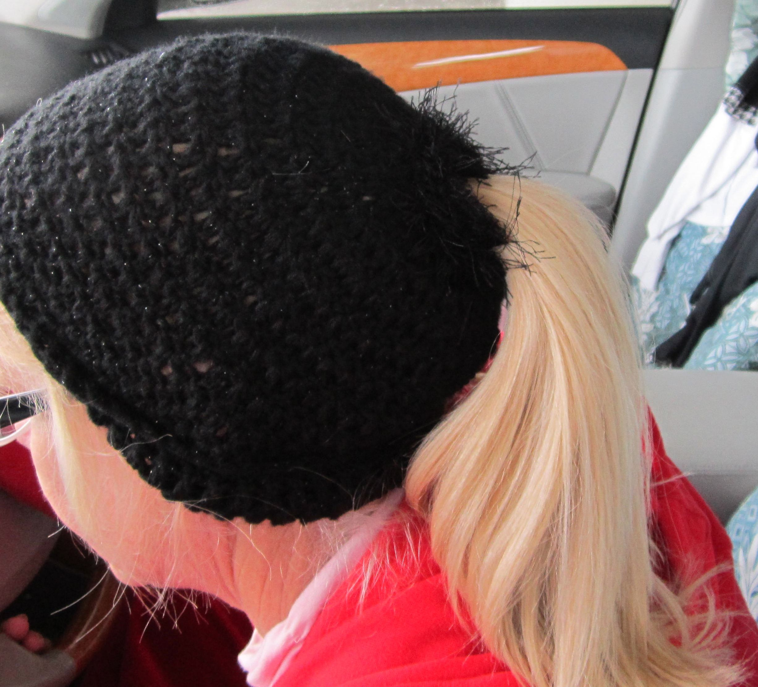 Crochet Ponytail : Crochet Pony Tail Hat.... Crochet Hats Pinterest