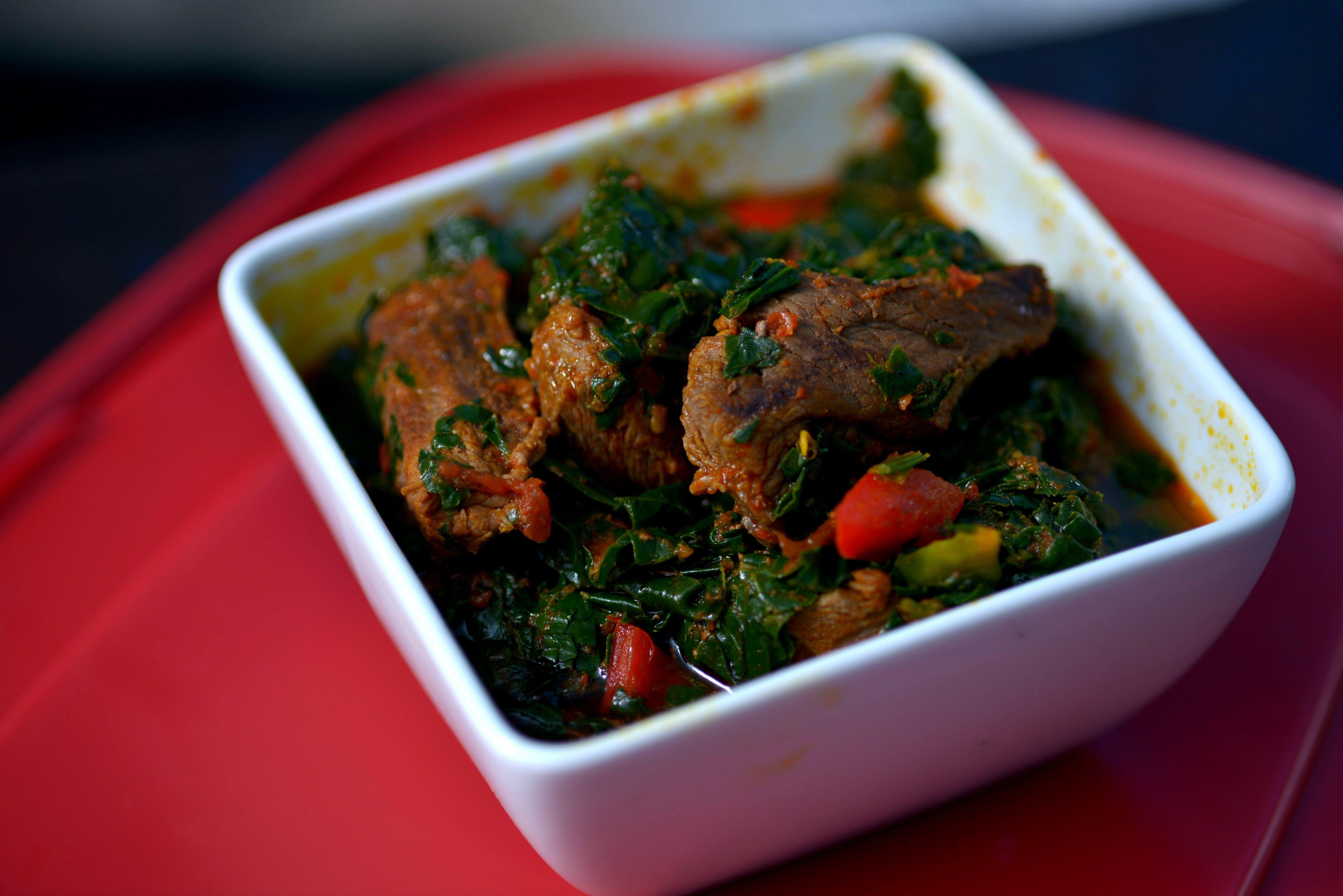 Efo riro cuisine africaine pinterest for Cuisine africaine