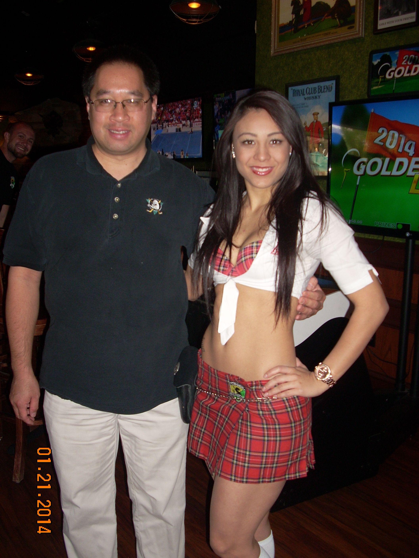 Me with a beautiful TK Girl! | Tilted Kilt Girls | Pinterest