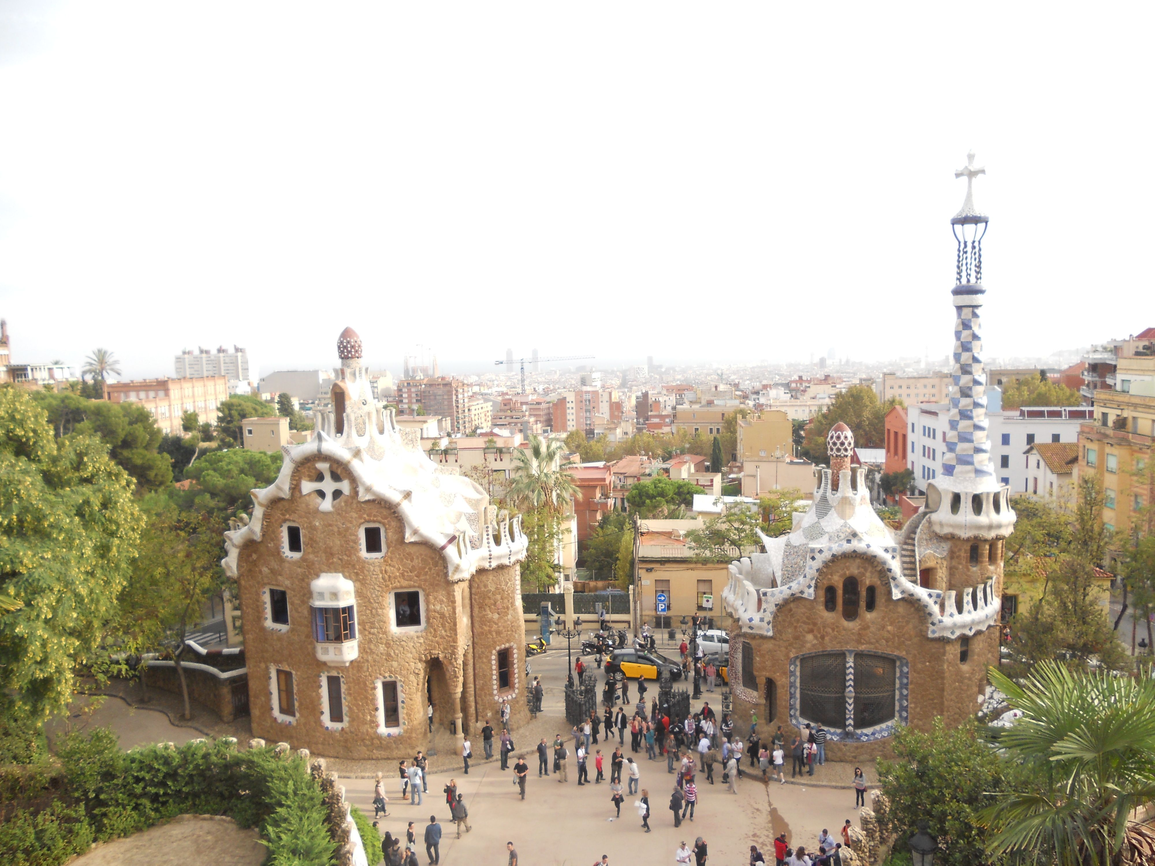Park Güell  Favorite Places & Spaces  Pinterest