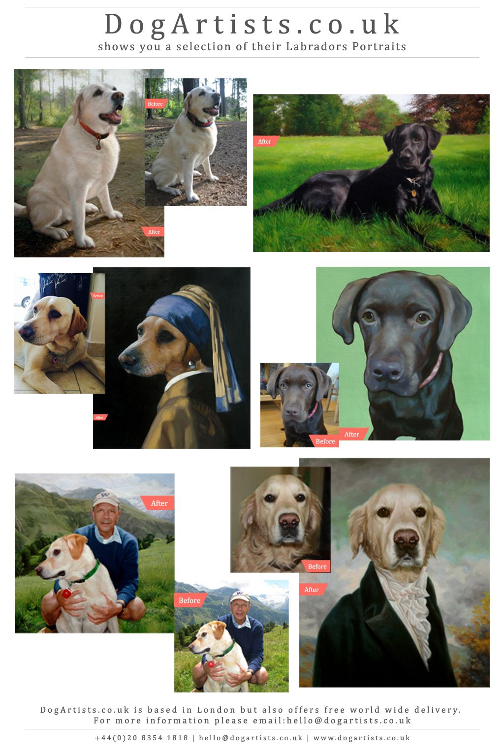 labrador paintings