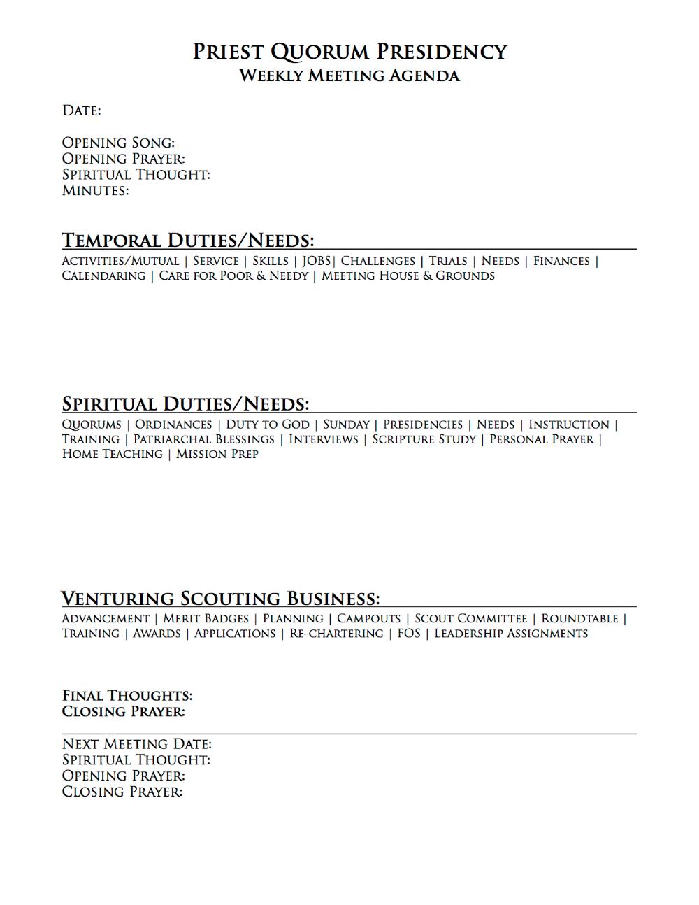 Amazing Teacher Meeting Agenda Template Collection - Resume Ideas ...