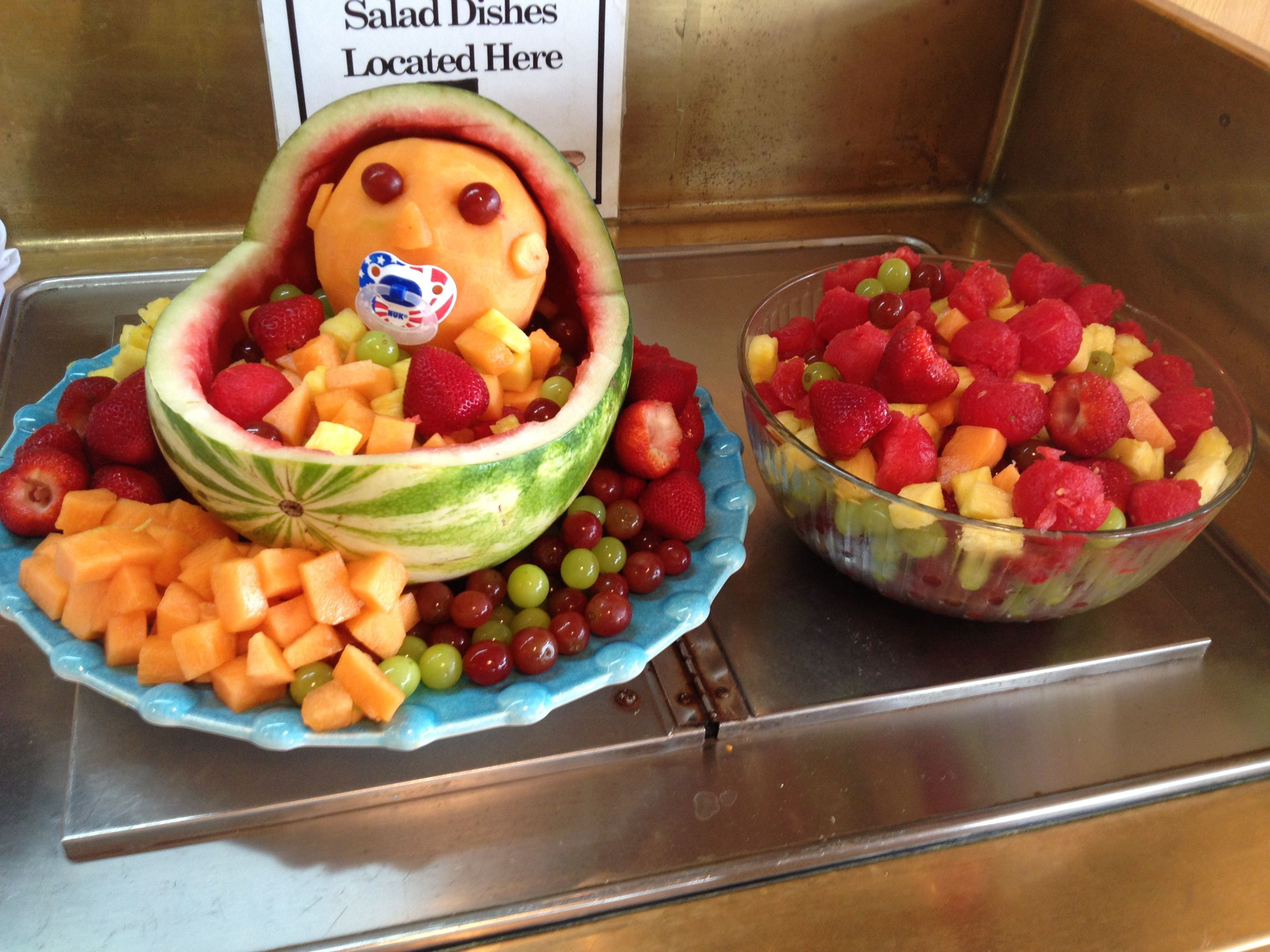 baby shower fruit bowl boy baby shower pinterest