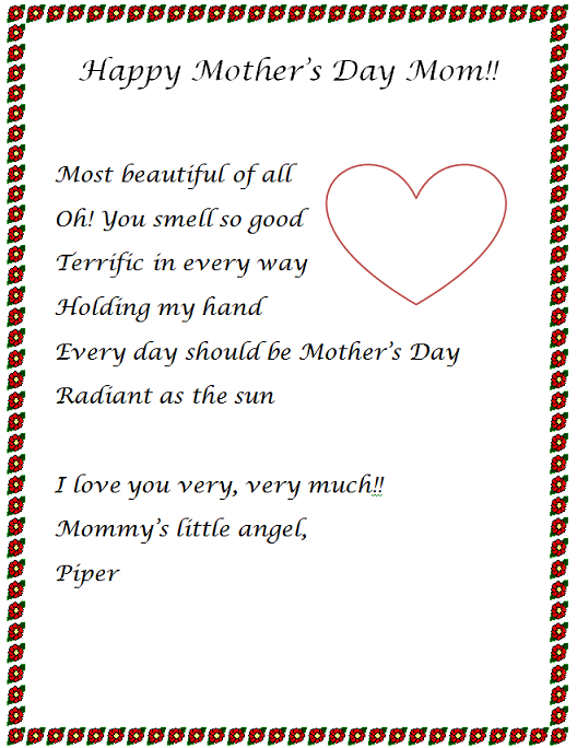 My Mother Essays