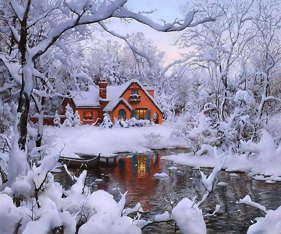 beautiful winter home tonia pinterest