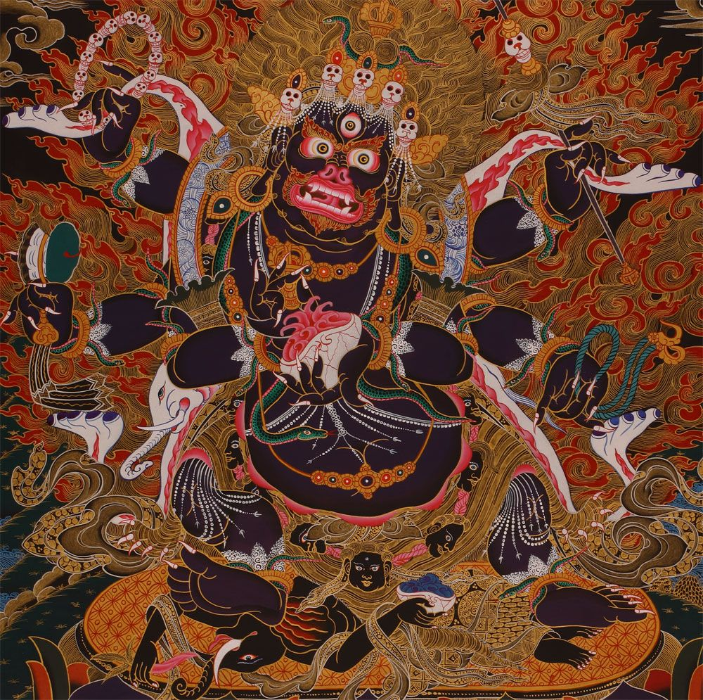 Gallery images and information: mara demon buddhism