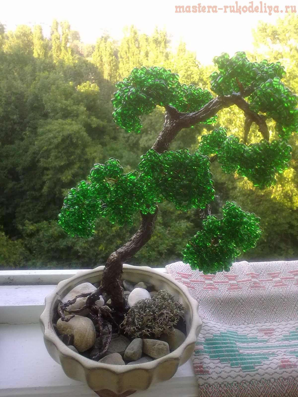 Искусственные деревья своими руками 75