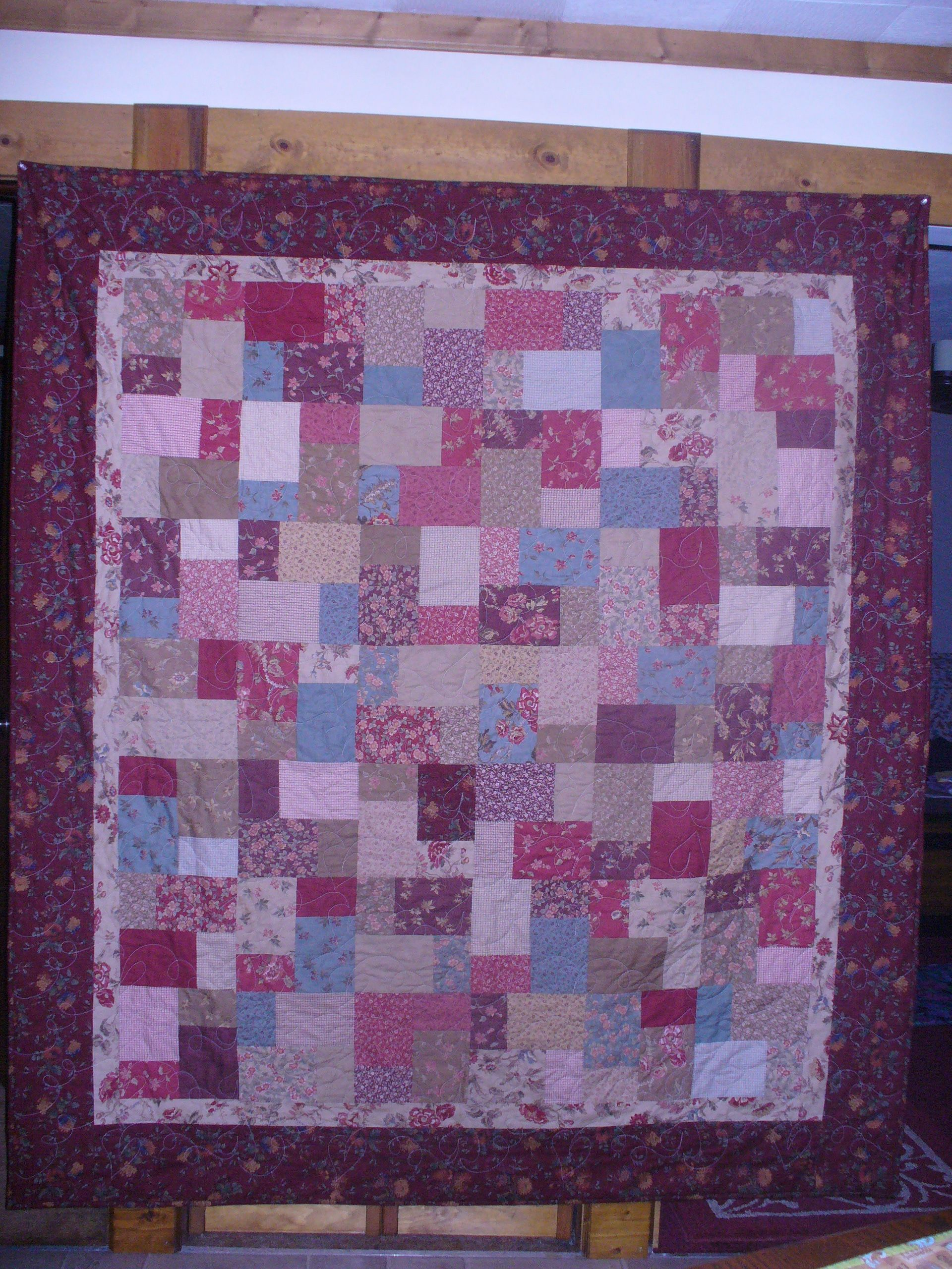Layer cake quilt Quilting Pinterest