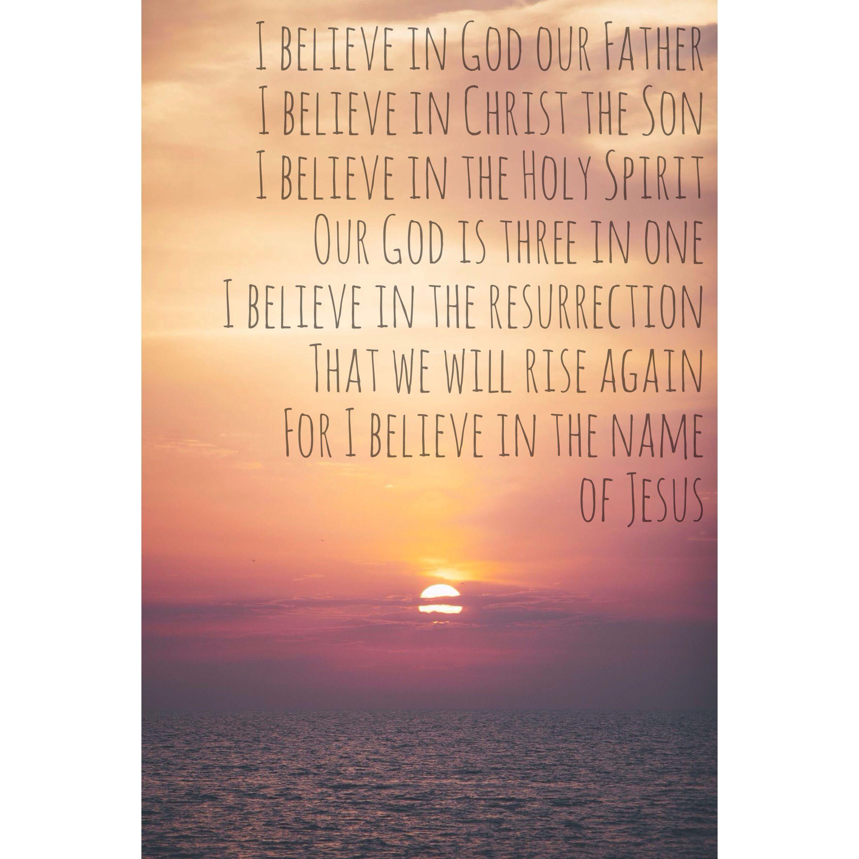 believe essay