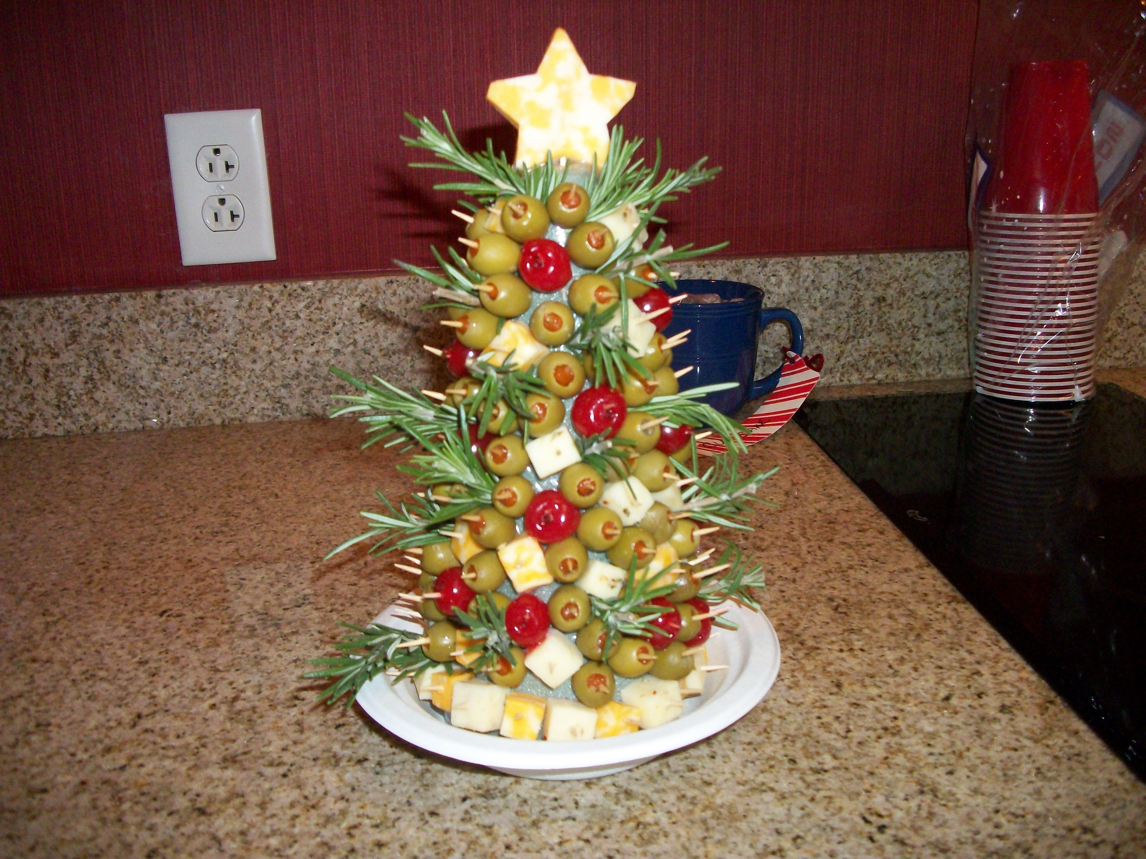 Appetizer Christmas Tree | Recipes | Pinterest