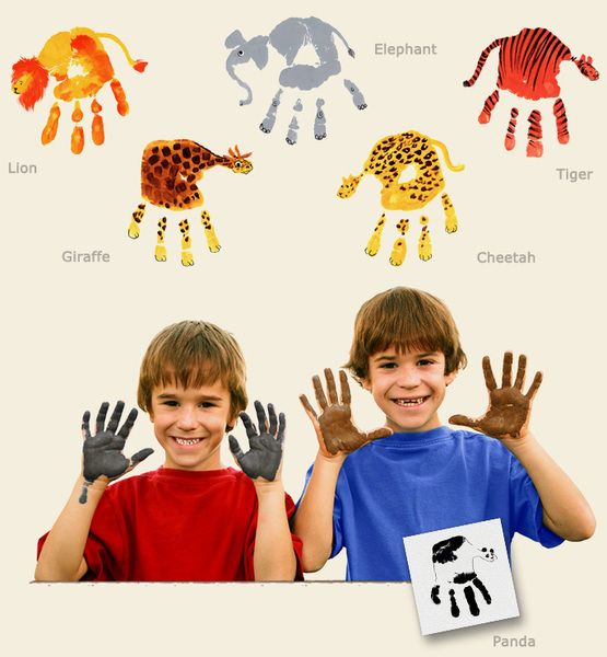 イノシシ 手形