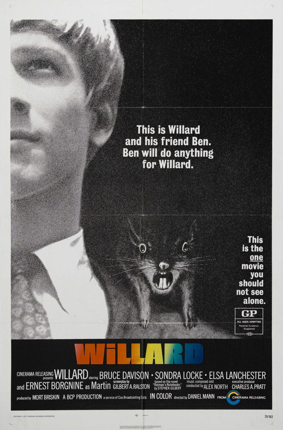 Willard | Classic '70s Movies The Best Decade For Movies | Pinterest Easy Rider Movie Poster