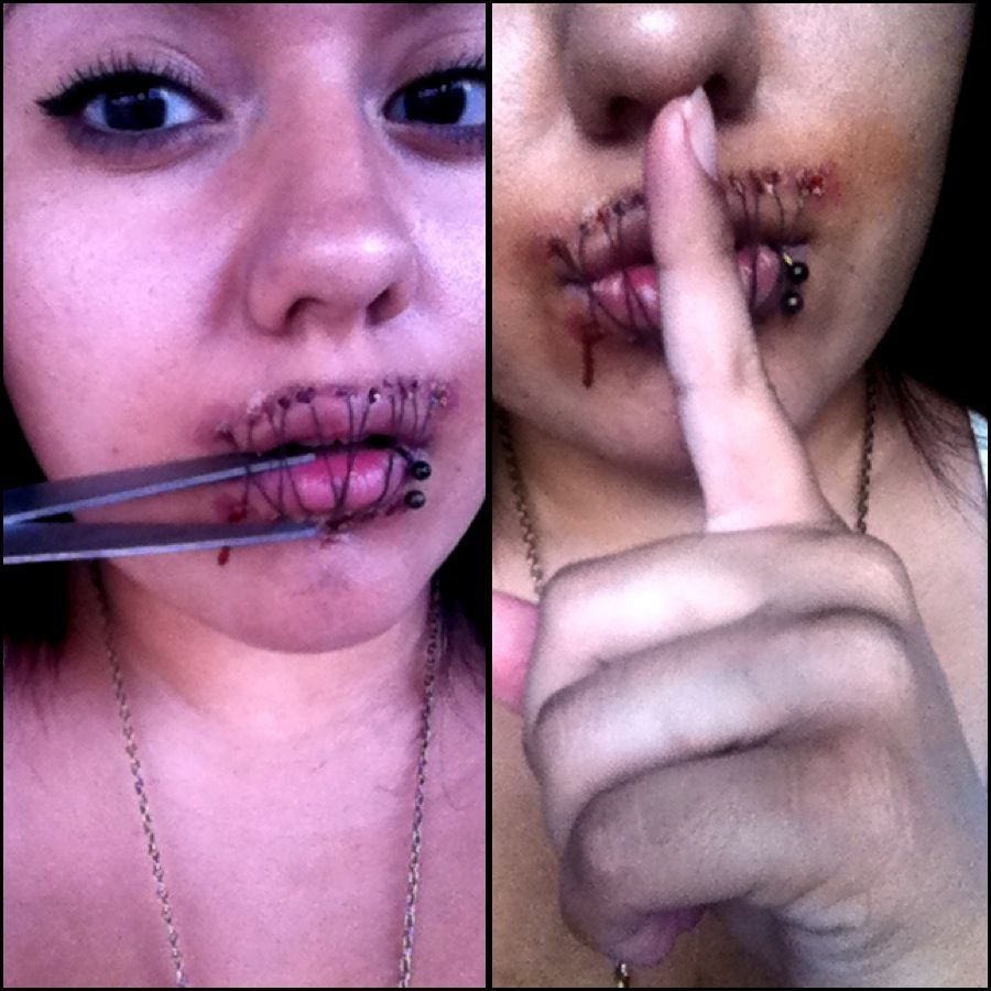 halloween makeup sfx